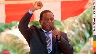 Emmerson Mnangagwa, 'The Crocodile,' in line to be Zimbabwe's next leader