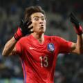 Koo Ja Cheol  of South Korea celebrates world cup