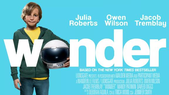 """The children's novel """"Wonder"""" has been adapted into a film."""