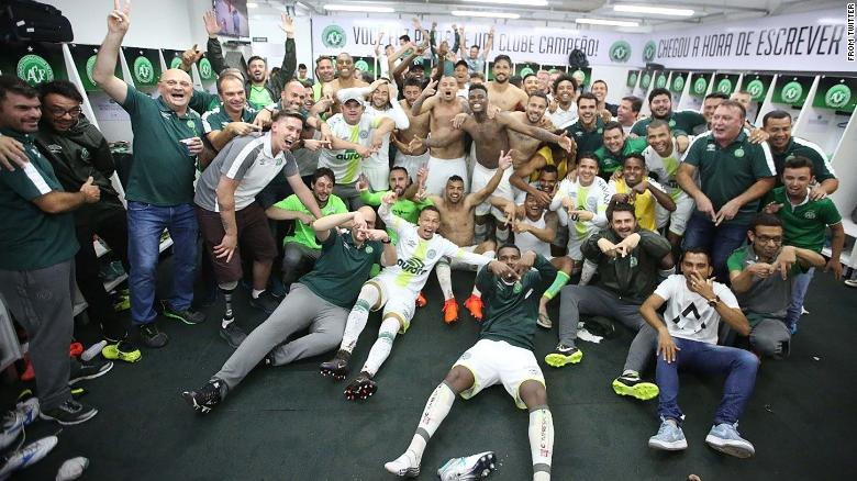Chapecoense smiles after avoiding relegation