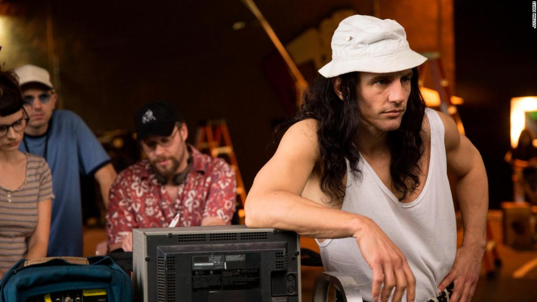 James Franco in 'The Disaster Artist.' The film scored two nominations, including best musical or comedy.