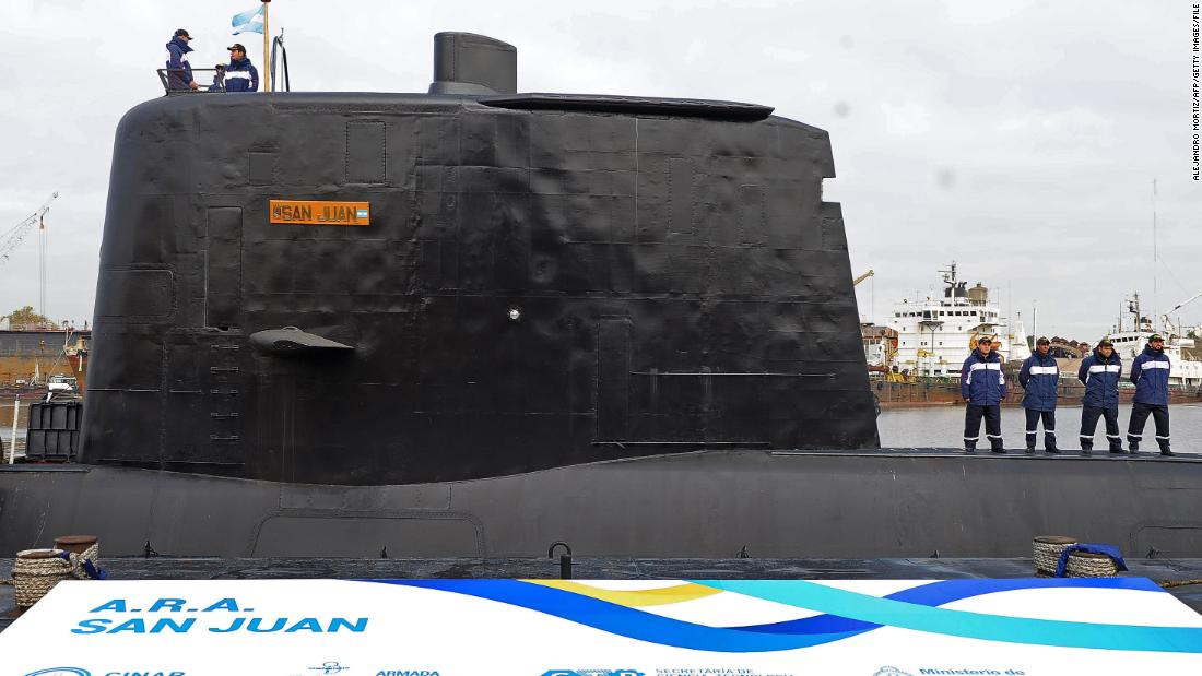 Argentine submarine found a year after it vanished