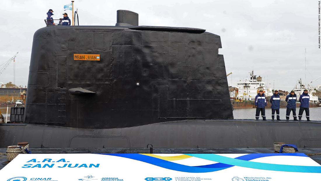 Argentina's missing submarine found a year after it vanished with 44 aboard image