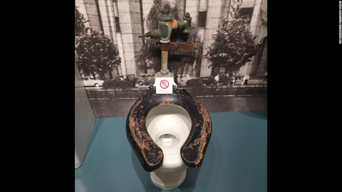 The TOTO Toilet Museum has been visited more than 180,000 times since opening two years ago. The museum features a toilet that belonged to the office of former Chief of Staff of the United States Army, General Douglas MacArthur, during the post-WWII occupation of Japan.