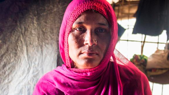37-year-old Aisha told CNN that soldiers attacked and raped her in her home.