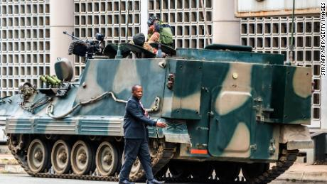 Zimbabwe military: A calm transition is underway