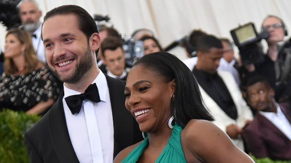 Alexis Ohanian and Serena Williams got married last year.