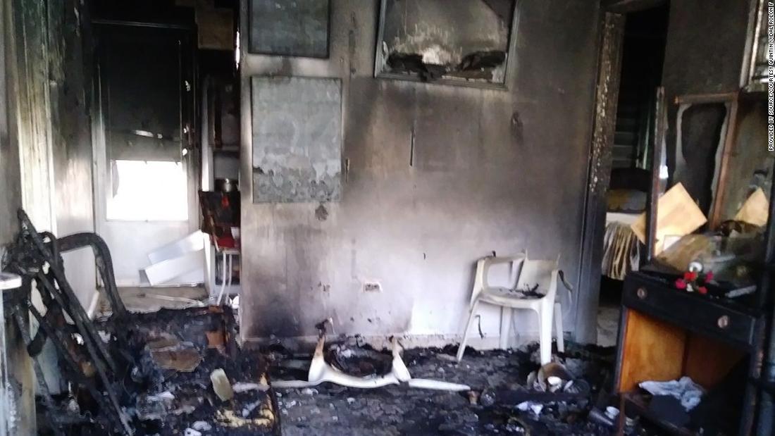 """One family member described Quintín Vidal Rolón's home on October 20 as a """"hellscape."""""""