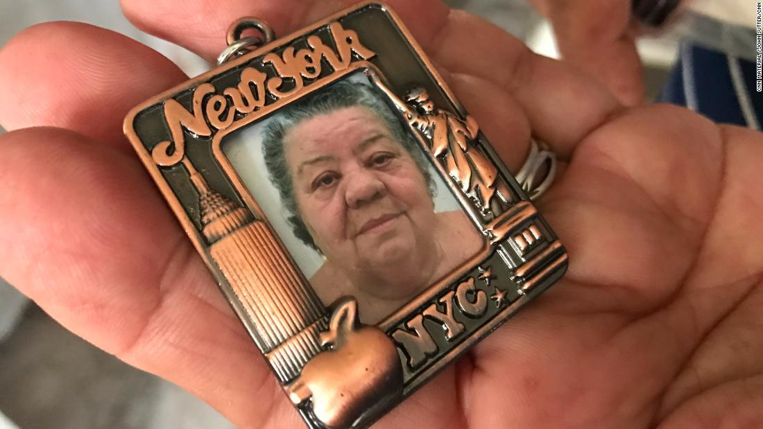 Pilar Guzmán Ríos died more than a week after the storm.