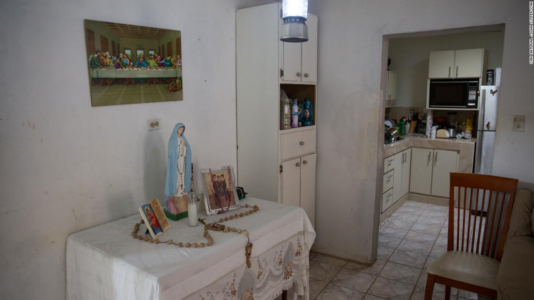 Pilar Guzmán Ríos lived in Corozal, where the government says no one died because of the storm.