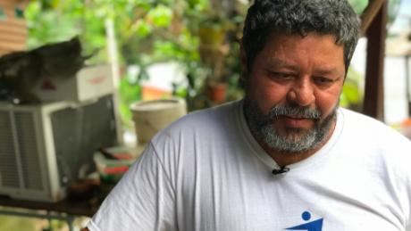"José A. Ortiz Guzmán says his mom ""would still be with us"" if not for the hurricane. ""She would still be enjoying life."""