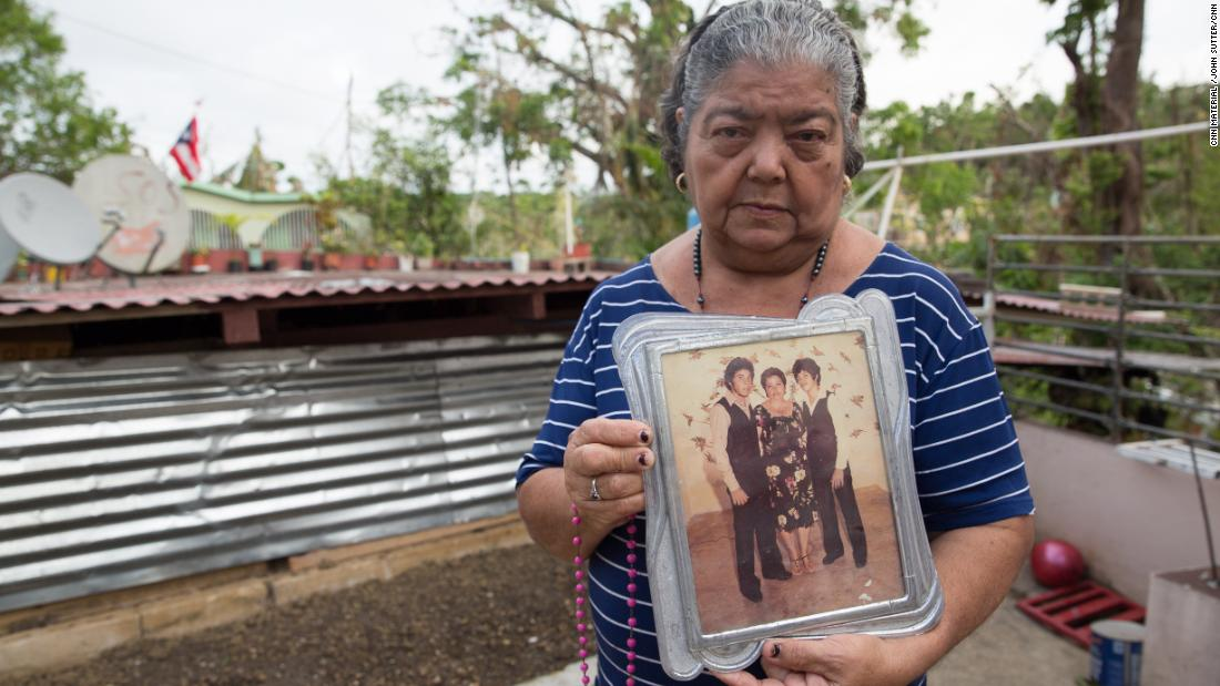 Their deaths were labeled 'victim of cataclysmic storm.' So why aren't their names on Puerto Rico's list?