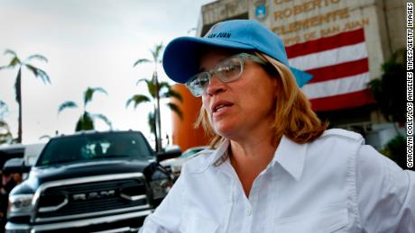 San Juan Mayor Carmen Yulín Cruz has criticized the official death count.