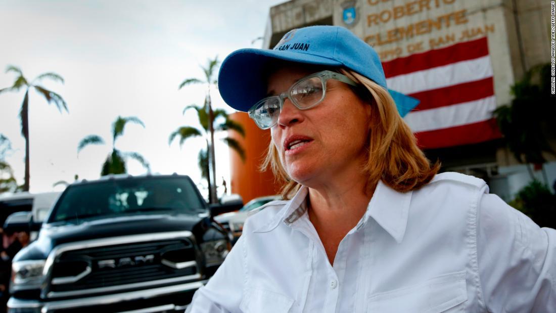 San Juan Mayor Carmen Yulín Cruz has criticized the official death count.