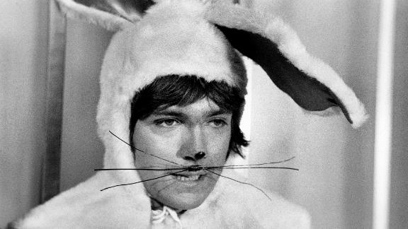"Cassidy wore a bunny suit in an episode of ""The Partridge Family,"" titled ""The Last of Howard."""