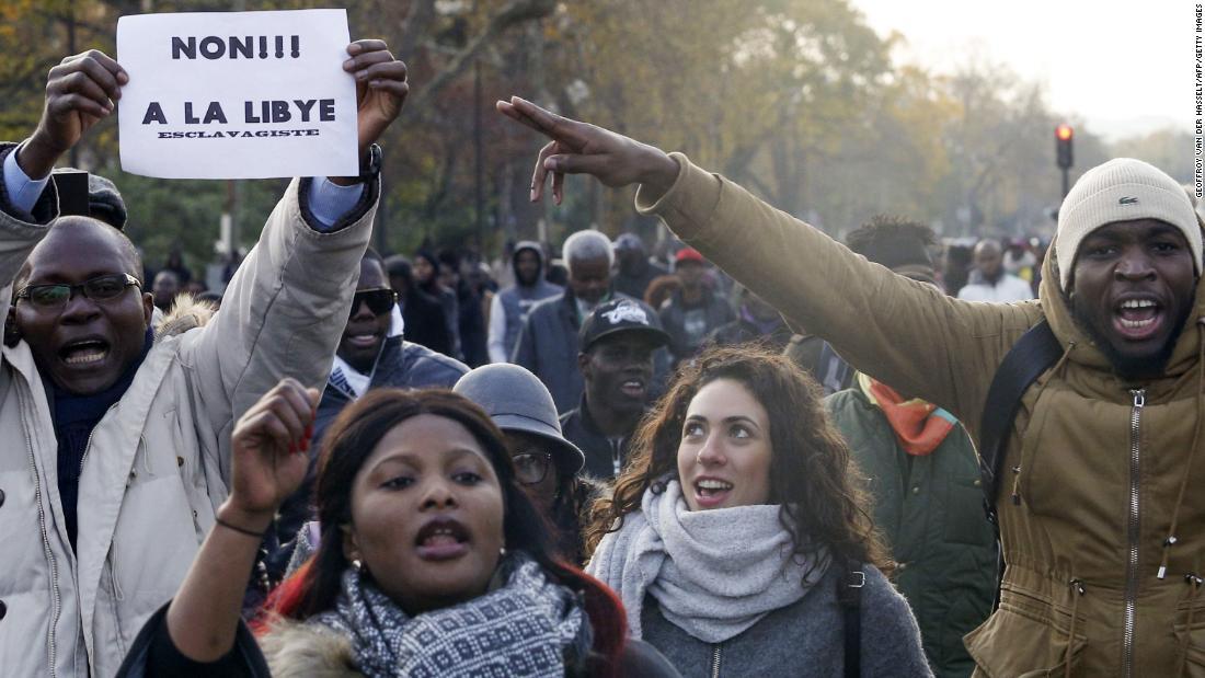 Libya Slave Trade Pics >> UN Security Council seeks investigation into Libya slave trade - CNN