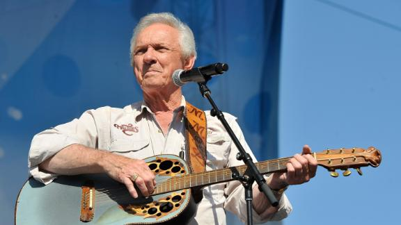 Mel Tillis performs at the 2012 CMA Music Festival in Nashville, Tennessee.