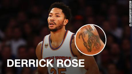 5ec011043 Speaking of random things holding basketballs, it's time to discuss one of  the NBA's most infamous and puzzling tattoos. Apologies, folks, it's  Poohdini ...