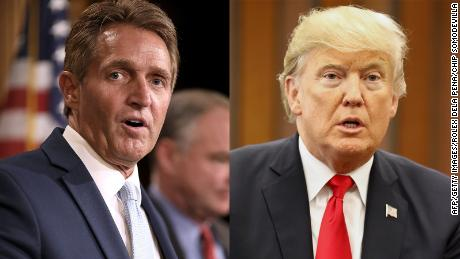 Jeff Flake threatens bill to nullify Trump's tariffs