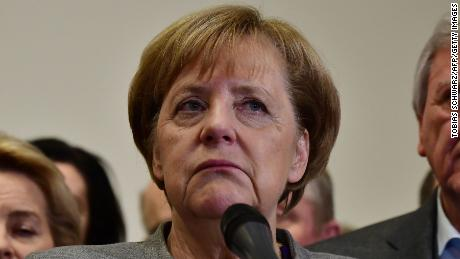 Merkel dealt a blow as talks to form German government collapse