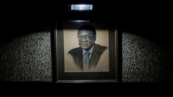 A portrait of Mugabe