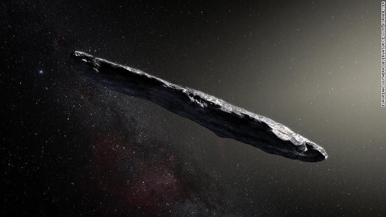 Scientists Find New Vessel For >> Meet Oumuamua The First Observed Interstellar Visitor To Our Solar