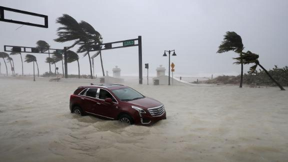 """It is the strongest Atlantic basin hurricane ever recorded outside the Gulf of Mexico and the Caribbean Sea. <a href=""""http://www.cnn.com/specials/hurricane-irma"""">Irma</a> lasted as a hurricane from August 31 until September 11. The storm, which stretched 650 miles from east to west, affected at least nine US states, turning streets into rivers, ripping down power lines, uprooting trees and cutting off coastal communities."""