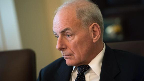 WASHINGTON, DC - NOVEMBER 20: White House Chief of Staff John Kelly attends a cabinet meeting with President Donald Trump, at the White House on November 20, 2017 in Washington, D.C. President Trump officially designated North Korea as a state sponsor of terrorism. Photo by Kevin Dietsch/UPI