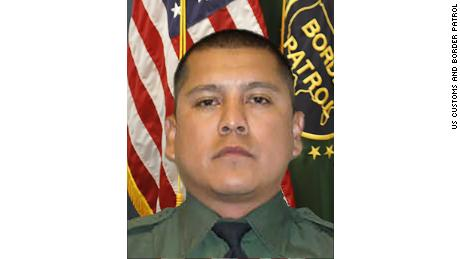 US Customs and Border Patrol Agent Rogelio Martinez