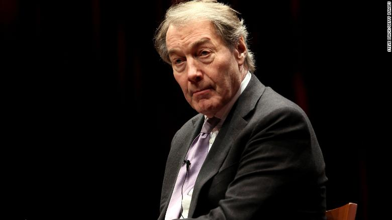 Charlie Rose accused of sexual harassment