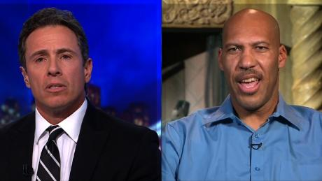 LaVar Ball spars with Cuomo over Trump's tweets