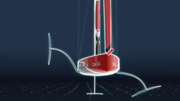 Computer models suggest the AC75 could be the fastest Cup boat ever at more than 50 knots.