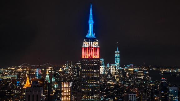 Big city lights: Be sure to check the Empire State Colors Twitter account (@esbcolors) to find out what colors will be lighting up the building at night and what those colors honor (holidays, sporting events and awareness months are popular ones).