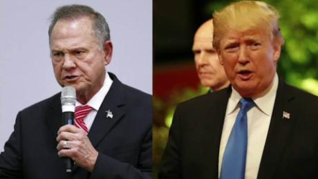 Trump calls Roy Moore to endorse him