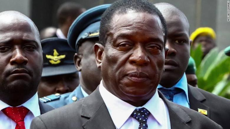 Zimbabwean President Emmerson Mnangagwa has struggled to control hyperinflation and stabilize the economy.