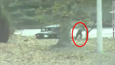 Video shows N. Korean defector's escape