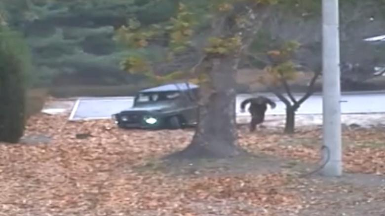 North Korean defection caught on camera