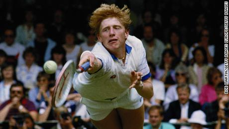 Becker became the youngest man to win Wimbledon at the age of 17 in 1985.