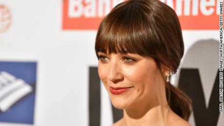 Rashida Jones attends the International Women's Media Foundation 2017 Courage In Journalism Awards at NeueHouse Hollywood on October 25, 2017 in Los Angeles, California.  (Photo by Earl Gibson III/Getty Images)