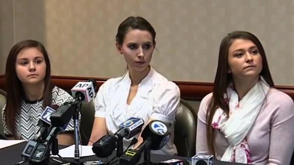 Kaylee Lorincz, Rachael Denhollander and Lindsey Lemke spoke out against Nassar and the institutions that protected him on Wednesday.