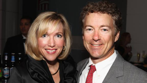 Kelley Paul and Senator Rand Paul.