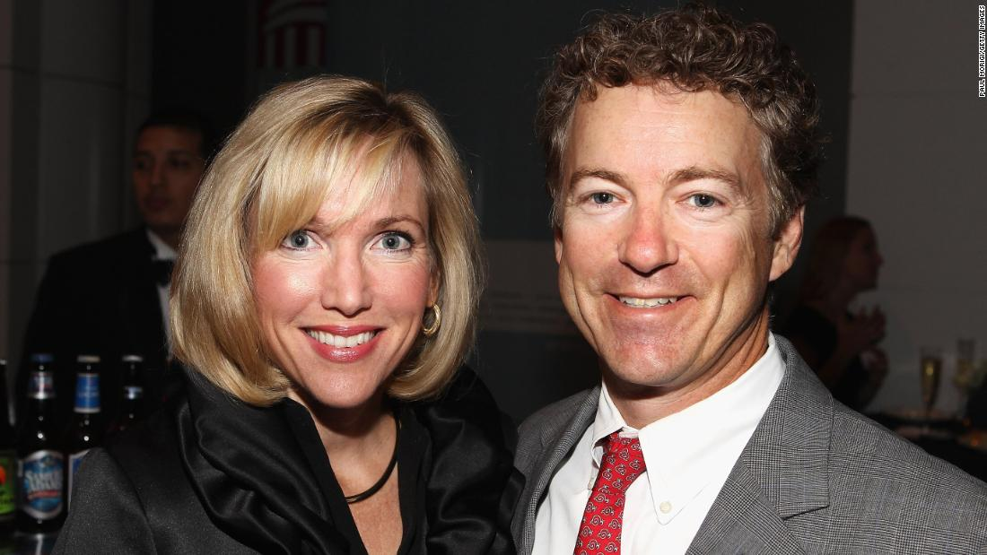 My husband, Rand Paul, and our family have suffered intimidation and threats