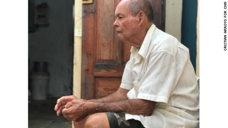 Jose Morales lives in fear his damaged home in Yabucoa will be swept into the Caribbean.