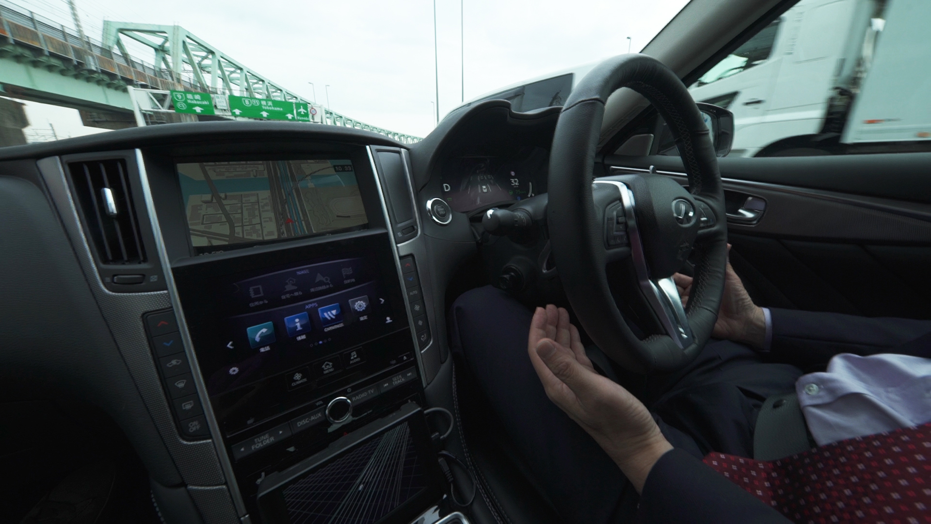 The Nissan driverless car hits the Tokyo highway - CNN Style