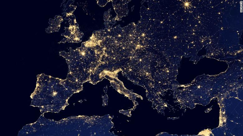Loss Of The Night Light Pollution Rising Rapidly On A