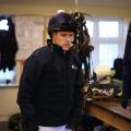 Owen in jockey room