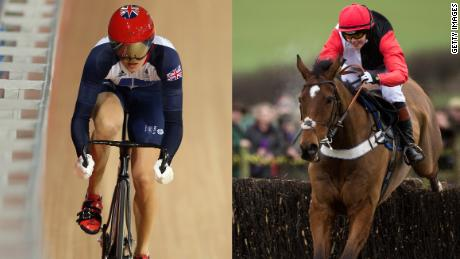 Olympic track cyclist Victoria Pendleton switched to a different kind of saddle last year.