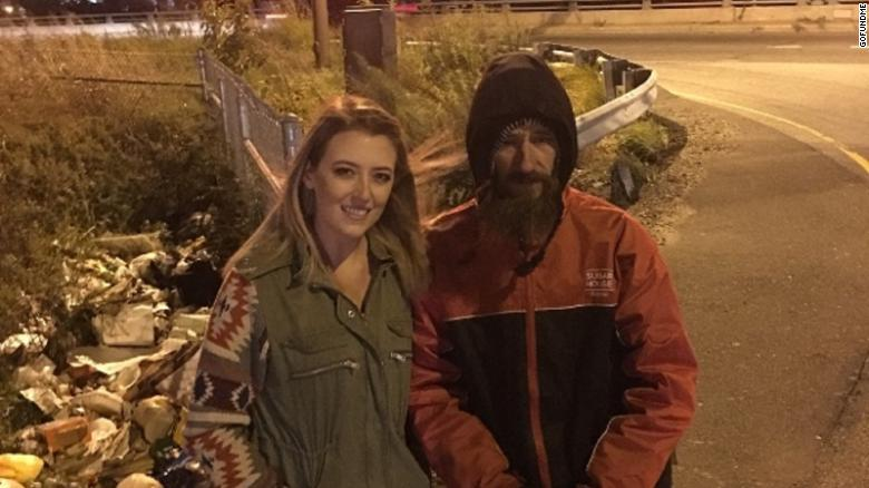 Kate McClure helped raise more than $400,000 for Johnny Bobbitt Jr., a homeless man, to repay his kindness.