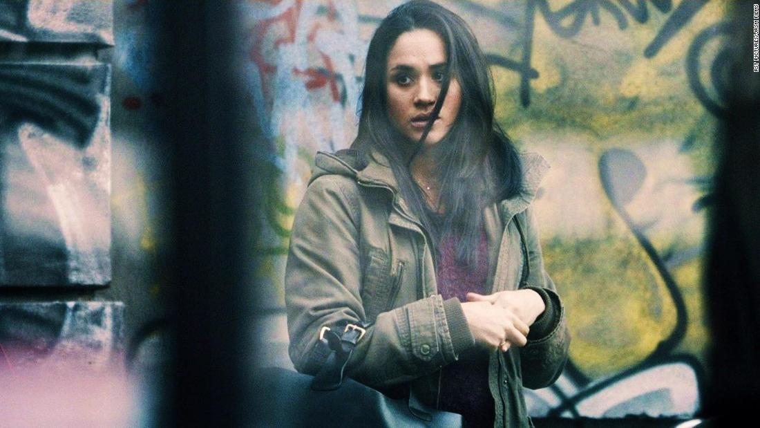 "Markle plays Kirsten in the 2015 movie ""Anti-Social."""