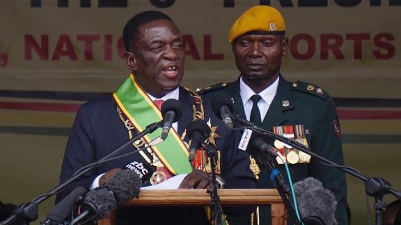 President Emmerson Mnangagwa promised reforms during his inauguration ceremony in Harare.